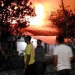 KEBAKARAN SEMARANG : Lapak Darurat Pasar Waru Semarang Mulai Dibangun