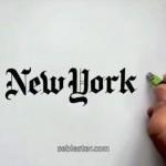 Tulisan Tangan Pria Ini Mirip Font Merek-Merek Top Dunia