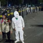 Hadapi Demo 25 November/2 Desember, Polisi Gelar Simulasi di Gedung DPR
