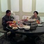 Saat Megawati Bawakan Bakmi untuk Makan Siang Presiden Jokowi