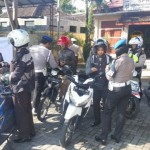RAZIA MAGETAN : Belasan Personel Polres Magetan Tak Bawa SIM dan STNK