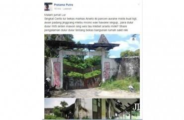 Cerita tentang bekas mes Arseto di Panularan (Facebook)