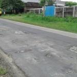 INFRASTRUKTUR BOYOLALI : Baru 2 Bulan Diperbaiki, Jalan Kaliyoso Rusak Lagi