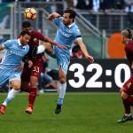 Lazio vs AS Roma (REUTERS/Alessandro Bianchi)