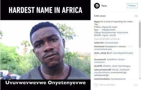 KISAH UNIK : Duh, Nama Anak Uvuvwevwevwe Osas Ternyata Lebih Ruwet Lagi!