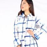 Yuk Intip Model Terbaru Blus dan Kemeja Jumputan