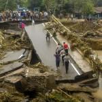 Banjir Bandang di Bima Rendam 1.700 Ton Beras