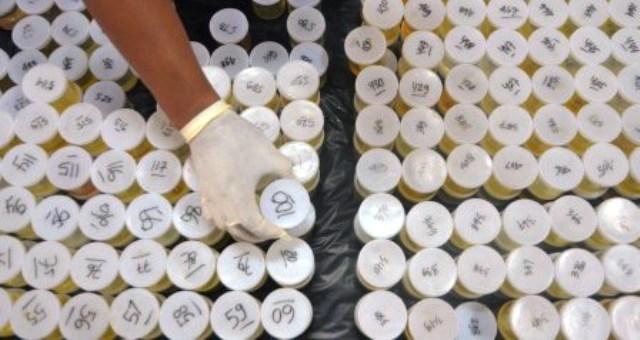 FOTO NARKOBA KUDUS : Urine 889 PNS Pemkab Kudus