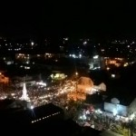 MALAM TAHUN BARU 2017 : Warga Memadati Tugu Jogja