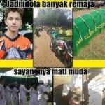 Netizen Bingung Lihat Foto Proses Pemakaman Boy Anak Jalanan