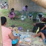 RESTORASI GUMUK PASIR : Usai Penggusuran, Warga Cemoro Sewu Dirikan Dapur Umum