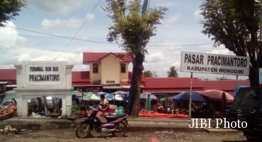 Pasar Pracimantoro Wonogiri (Bayu Jatmiko Adi/JIBI/Solopos)
