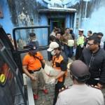 Foto Penggeledahan Indekos di Kartasura Sukoharjo