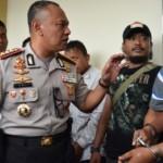 FOTO PENCURIAN SEMARANG : Penjahat Menyaru Tukang Servis AC