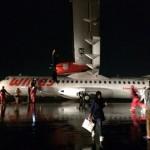 KECELAKAAN PESAWAT : Buntut Wings Air Tergelincir di Semarang, 9 Penerbangan Tertunda