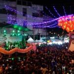 IMLEK 2018 : Video Mapping dan Kolaborasi Drum-Tambur Batal, Hanya Liong Fosfor Ramaikan Pasar Gede Solo