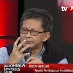 Jokowi Dituding Tak Paham Pancasila, Istana Hafal Strategi Rocky Gerung