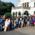 Peras Bus Wisata di Lawang Sewu Semarang, 6 Juru Parkir Dicokok Tim Saber Pungli