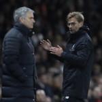 LIGA INGGRIS : Mourinho-Klopp Ribut di Laga MU Vs Liverpool
