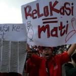 PENATAAN PKL SOLO : Protes Relokasi, PKL Jl. Kolonel Sutarto Demo di Balai Kota