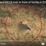 Terekam Kamera, Pria Mati Diterkam Harimau di Hadapan Anak dan Istrinya
