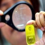 Ilustrasi emas Antam. (JIBI/Bisnis)