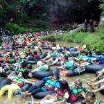 WISATA GUNUNGKIDUL : Tarif Masuk Gua Pindul Naik Jadi Rp50.000