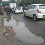 INFRASTRUKTUR BANTUL : Jalan Rusak, Pengendara Jadi Korban