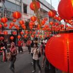 FOTO TAHUN BARU IMLEK : Ada Pasar Semawis di Pecinan!