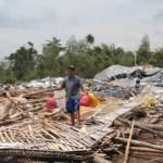 ANGIN KENCANG KLATEN : Kandang Ambruk, 3.000 Ayam di Desa Titang Mati