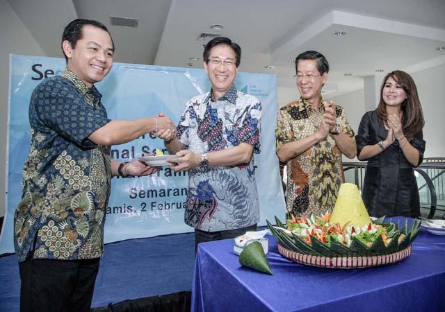 PERUSAHAAN ASURANSI : Sequis Life Ekspansi ke Semarang