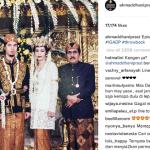 INSTAGRAM ARTIS : Ahmad Dhani Unggah Foto Pernikahan Bersama Maia, Netizen: Kangen Ya?