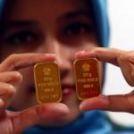 Ilustrasi emas batangan. (JIBI/Bisnis/dok)
