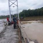BANJIR BOYOLALI : Sling Putus, Warga Kemusu Desak Jembatan Gantung Bawu Dibangun