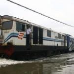 Semarang Banjir, 5 KA Jalur Utara Dialihkan Lewat Jogja