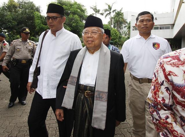 Jokowi Minta Tunda Pengesahan RKUHP, Maruf Amin: Saya Belum Dilantik
