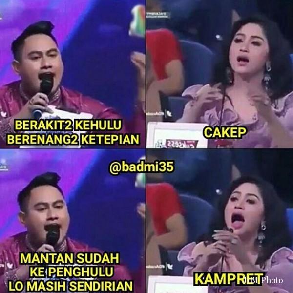 MEME TERBARU : Adegan Ribut Dewi Persik & Nassar Jadi Bahan Meme Lucu