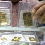 Ilustrasi emas batangan. (Nurul Hidayat/JIBI/Bisnis)