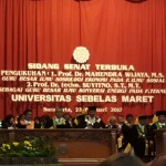 UNS Tambah 2 Guru Besar Konversi Energi & Sosiologi Ekonomi