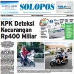 SOLOPOS HARI INI : KPK Deteksi Kecurangan Program JKN Rp400 Miliar