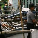 ANGIN KENCANG KENDAL : Angin Kencang Mendera, Baliho Ambruk