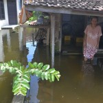 FOTO BENCANA KUDUS : Begini Banjir Rendam Jati Wetan