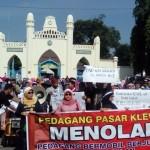 PASAR KLEWER : Disidang, 3 Pedagang Bermobil Divonis Denda Rp250.000