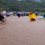 BENCANA JATENG : Sungai Serayu Meluap, Kawasan Wisata Dieng Banjir