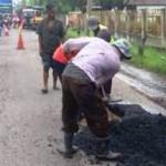 INFRASTRUKTUR DEMAK : Jalan Rusak Diperbaiki, Netizen Tetap Nyinyir