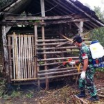 PETERNAKAN SRAGEN : Sapi Warga Miri Mati karena Demam, Puluhan Kandang Disemprot Disinfektan