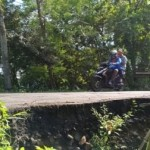 INFRASTRUKTUR WONOGIRI : Awas, Jalan Lintas Provinsi di Baturetno Ambles