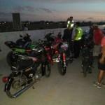 Polisi Karanganyar Amankan Puluhan Motor Balap Liar di Tol Solo-Mantingan