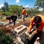 HUNIAN SOLO : Makam Dibongkar untuk Kampung Susun, Warga Pucangsawit Diresahkan Isu Ini