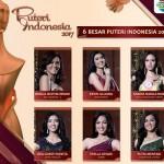 PUTERI INDONESIA 2017 : Wakil Jateng Lolos, Inilah 6 Besar Finalis PPI 2017